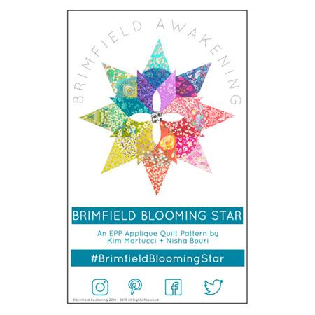 Brimfield Blooming Star Quilt Pattern