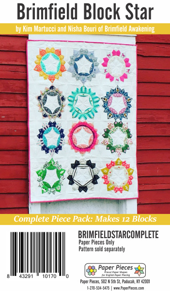 Brimfield Star Paper Piece Pack