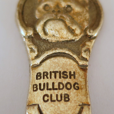British Bulldog Club spoons