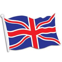 British Union Jack Flag Cutout 450mm