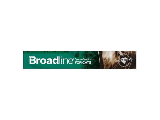 BROADLINE Spot-On Solution for Cats 2.5-7.4 kg