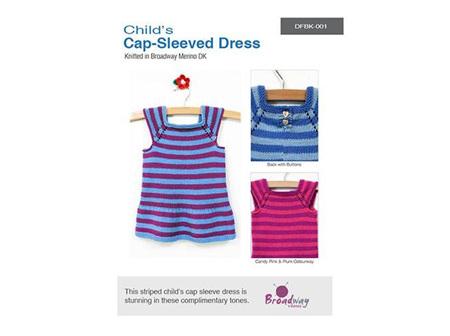 Broadway Childs Cap Sleeved Dress