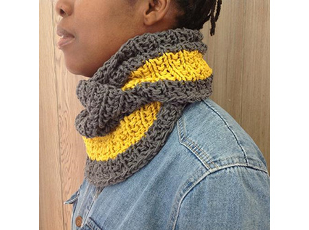 Broadway Cowl & Mitts