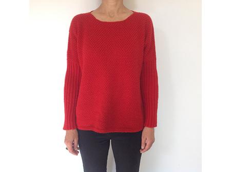 Broadway Dolman Textured Sweater (Adults)