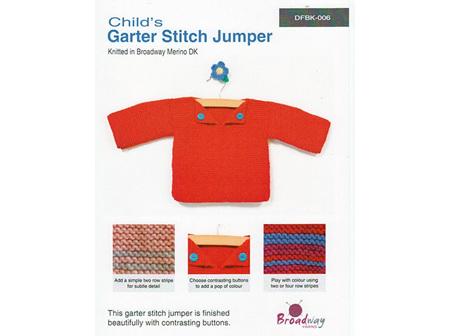 Broadway Garter Stitch Jumper