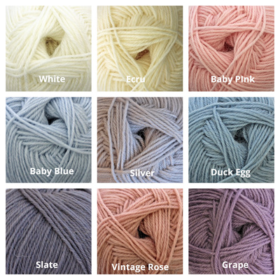 Broadway Yarns: Purely Baby 4 Ply