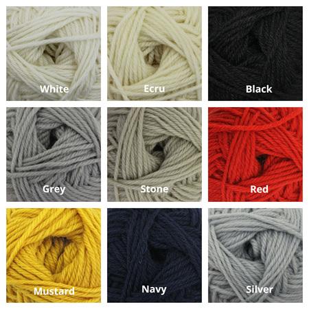 Broadway Yarns: Purely Wool DK 50gr