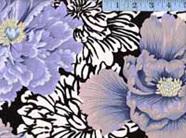 Brocade Peony Grey