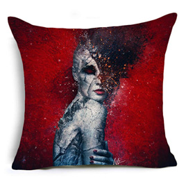 Broken Woman Cushion Cover