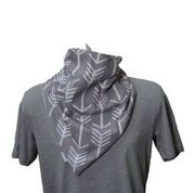 Brolly Bandana - Grey Arrow