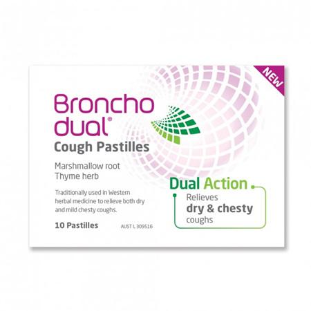Bronchodual Cough Pastilles 10 Pack