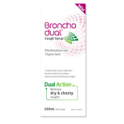 BRONCHODUAL COUGH SYRUP 200ML