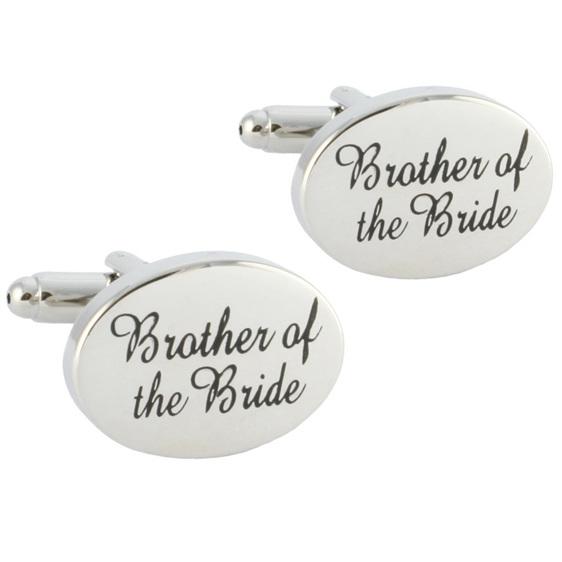 Brother of the Bride Wedding Cufflinks