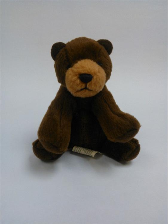 Brown bear keyring