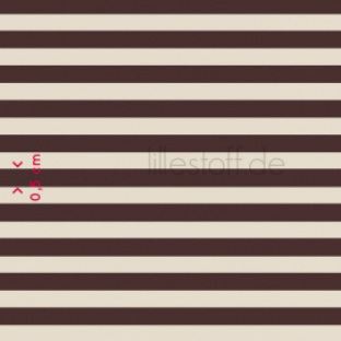 Brown & Beige Stripe
