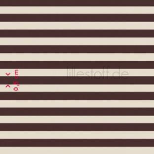 Brown & Beige Stripe