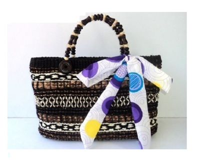Brown Cataleya Handbag - Free Shipping