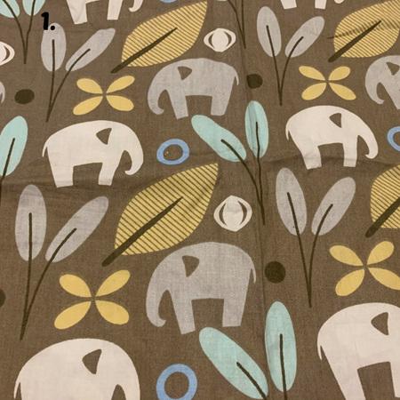 Brown Fabric Tones Lot 1