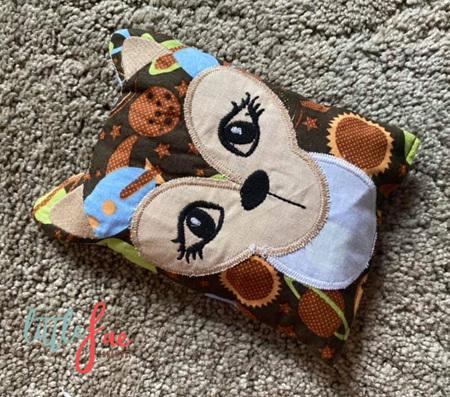 Brown Fawn Animal Wheat Bag