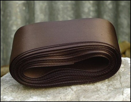 Brown Wedding Car Ribbon