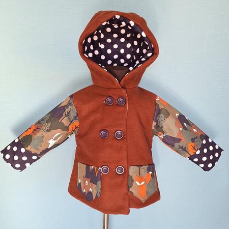 Brown/Forest Jacket Size 2