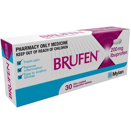 Brufen 200mg Tablets 30