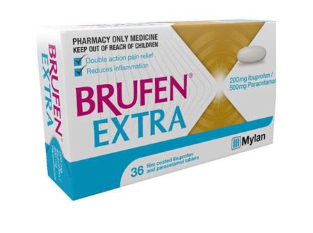 Brufen Extra 200/500mg Ibup/Par 36s
