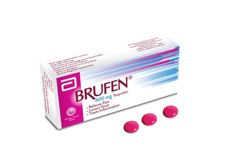 Brufen One 400mg Ibuprofen 20s
