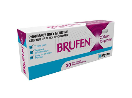 BRUFEN TABLETS 200MG 30'S