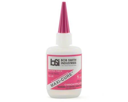 BSI Maxi-Cure Thick CA Glue 1 oz