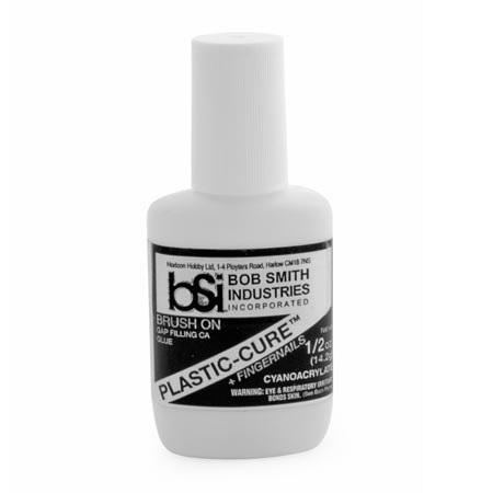 BSI Plastic-Cure Plastics CA Glue 1/3 oz
