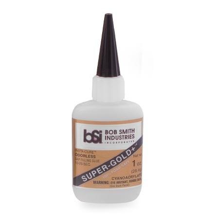 BSI Super-Gold+ Medium Foam Safe CA Glue 1 oz