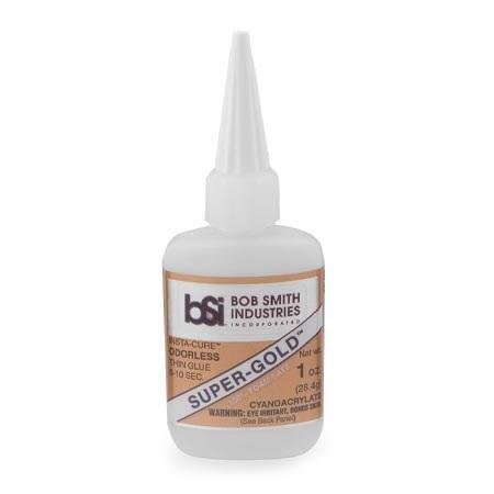 BSI Super-Gold Thin Foam Safe CA Glue 1 oz