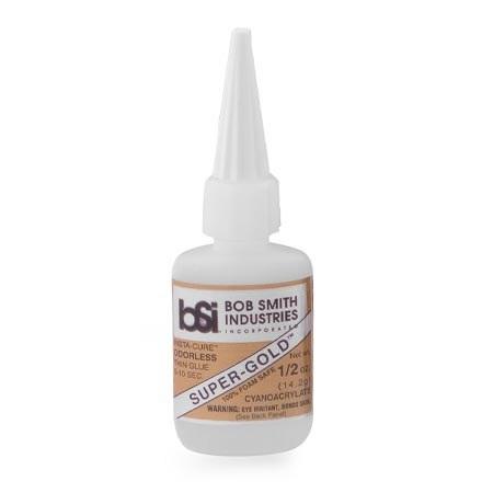 BSI Super-Gold Thin Foam Safe CA Glue 1/2 oz