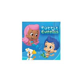 Bubble Guppies Beverage napkins x 16