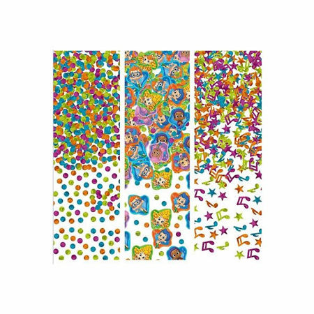 Bubble Guppies confetti value pack