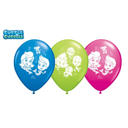 Bubble guppies latex balloon - blue left only!