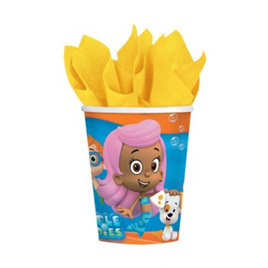 Bubble Guppies Party Cups x 8