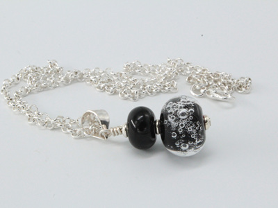 Bubble pendant - Black