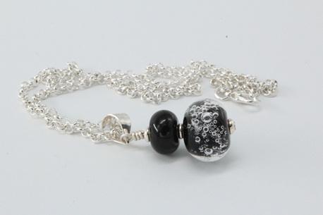 Bubble pendant - Black