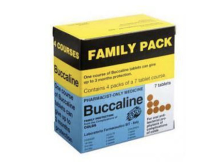 BUCCALINE Family Pack Tabs 28s