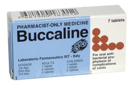 BUCCALINE TAB 7's