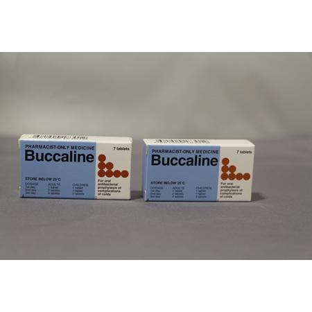 BUCCALINE Tablets 7s