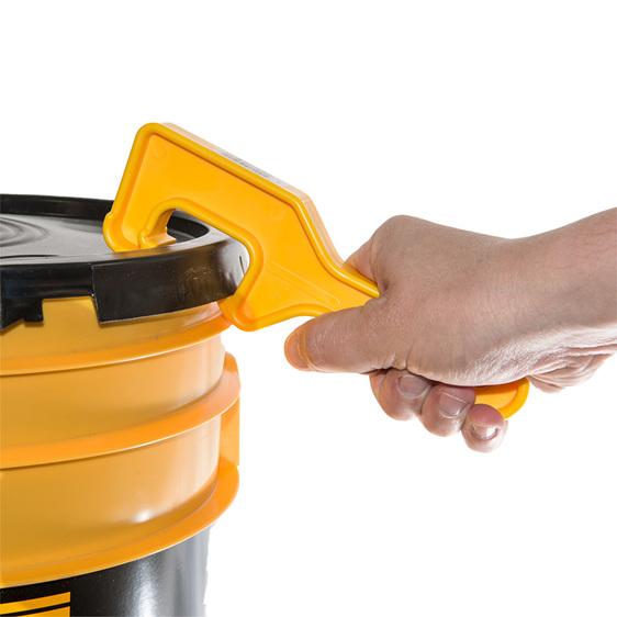 Bucket lid opener