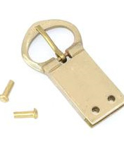 Buckle 10 - Brass Medieval Belt Buckle for 20mm strap