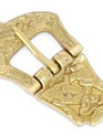 Buckle 12 - Brass Medieval Buckle with Intricate Design