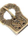 Buckle 8 - Brass Medieval Belt Buckle