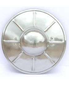 Buckler 2 - Plain Steel Buckler