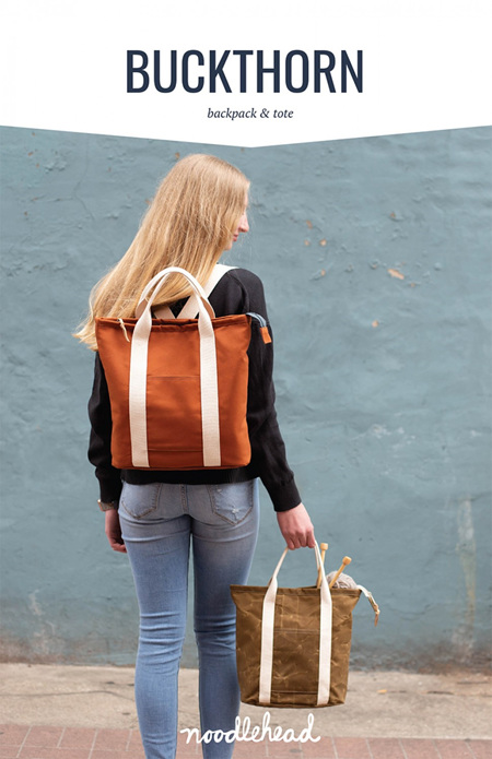 Buckthorn Backpack & Tote from Noodlehead