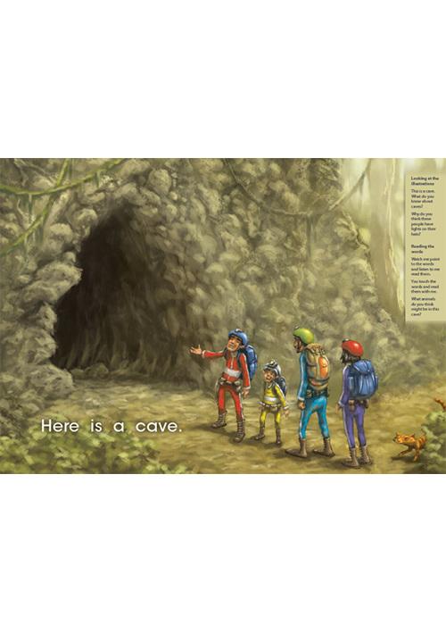 Bud-e Reading 19: Cave Cat